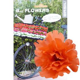 Basil Flower Peony voor stuur en frame oranje